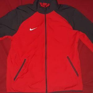 NIKE Mens Knit Full-Zip Training Jacket